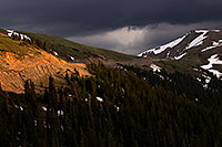 /images/133/2011-07-06-loveland-snow-81740.jpg - #09375: Top of Loveland Pass … July 2011 -- Loveland Pass, Colorado