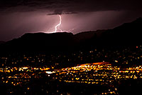 /images/133/2011-09-08-sedona-lightning-93605.jpg - #09462: Lightning view of Sedona from Airport Overlook … September 2011 -- Sedona, Arizona