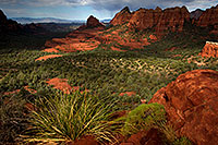 /images/133/2011-09-09-sedona-schnebly-93951.jpg - #09472: View from Schnebly Hill Road in Sedona … September 2011 -- Schnebly Hill, Sedona, Arizona