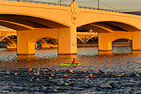 /images/133/2011-10-23-soma-swim-106730.jpg - #09660: 00:21:02 Yellow caps swimming at Soma Triathlon 2011 … October 2011 -- Tempe Town Lake, Tempe, Arizona