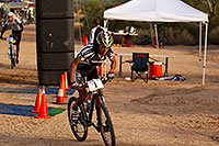 /images/133/2011-11-05-trek-fury-tinker-110431.jpg - #09704: 06:25:03 #1 Tinker Juarez at Start of Lap of Mountain Biking at Trek Bicycles 12 and 24 Hours of Fury … Nov 5-6, 2011 -- McDowell Mountain Park, Fountain Hills, Arizona
