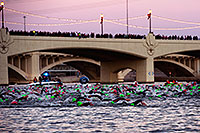/images/133/2011-11-20-ironman-swim-d3s-0847.jpg - #09841: 00:04:05 - Early in the swim - Ironman Arizona 2011 … November 2011 -- Tempe Town Lake, Tempe, Arizona