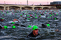 /images/133/2011-11-20-ironman-swim-d3s-0906.jpg - #09843: 00:05:34 - Early in the swim - Ironman Arizona 2011 … November 2011 -- Tempe Town Lake, Tempe, Arizona