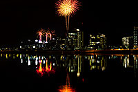 /images/133/2011-11-20-tempe-asu-fireworks-d3s-795.jpg - #09844: Fireworks over ASU from Tempe Town Lake … November 2011 -- Tempe Town Lake, Tempe, Arizona