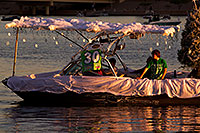 /images/133/2011-12-10-tempe-aps-lights-126529.jpg - #09855: Boat #30 before APS Fantasy of Lights Boat Parade … December 2011 -- Tempe Town Lake, Tempe, Arizona