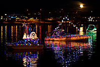 /images/133/2011-12-10-tempe-aps-lights-126897.jpg - #09865: Boat #33 before APS Fantasy of Lights Boat Parade … December 2011 -- Tempe Town Lake, Tempe, Arizona