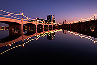 /images/133/2011-12-14-tempe-twilight-1ds3-0052.jpg - #09867: Tempe Town Lake twilight reflections … December 2011 -- Tempe Town Lake, Tempe, Arizona