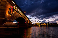 /images/133/2011-12-16-havasu-bridge-1ds3-0167.jpg - #09872: Evening at London Bridge in Lake Havasu City … December 2011 -- London Bridge, Lake Havasu City, Arizona