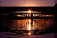 /images/133/2011-12-28-tempe-sunset-bridge-128555.jpg - #09881: Sunset at Tempe Town Lake … December 2011 -- Tempe Town Lake, Tempe, Arizona