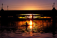 /images/133/2011-12-28-tempe-sunset-bridge-128698.jpg - #09882: Sunset at Tempe Town Lake … December 2011 -- Tempe Town Lake, Tempe, Arizona