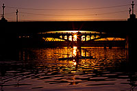 /images/133/2011-12-28-tempe-sunset-bridge-128700.jpg - #09884: Sunset at Tempe Town Lake … December 2011 -- Tempe Town Lake, Tempe, Arizona