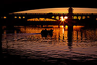 /images/133/2011-12-29-tempe-sunset-bridge-129265.jpg - #09886: Sunset at Tempe Town Lake … December 2011 -- Tempe Town Lake, Tempe, Arizona