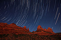 /images/133/2012-05-06-schnebly-strails-1ds3_0334.jpg - #10175: 50 minutes of star trails at Schnebly Hill in Sedona, Arizona … May 2012 -- Schnebly Hill, Sedona, Arizona
