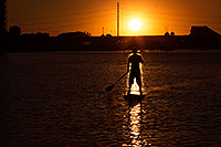 /images/133/2012-10-14-tempe-sunst-up-pad-1dx_4236.jpg - #10272: Stand up paddler at Tempe Town Lake … October 2012 -- Tempe Town Lake, Tempe, Arizona