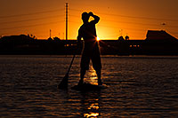 /images/133/2012-10-14-tempe-sunst-up-pad-1dx_4307.jpg - #10277: Stand up paddler at Tempe Town Lake … October 2012 -- Tempe Town Lake, Tempe, Arizona