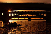 /images/133/2012-10-22-tempe-rowers-1dx_10292.jpg - #10306: Rowers at sunset at Tempe Town Lake … October 2012 -- Tempe Town Lake, Tempe, Arizona