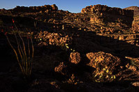 /images/133/2013-04-22-supers-dirt-l-ocol-37075.jpg - #11065: Apache Trail mountains in the evening … April 2013 -- Apache Trail Road #2, Superstitions, Arizona