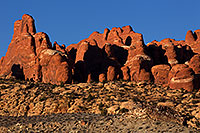 /images/133/2013-11-01-fiery-furnace-1d4_2225.jpg - #11217: Fiery Furnace in Arches National Park … November 2013 -- Fiery Furnace, Arches Park, Utah