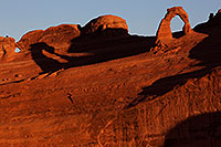 /images/133/2013-11-05-delicate-back-6d_0223.jpg - #11253: Delicate Arch in Arches National Park … November 2013 -- Delicate Arch, Arches Park, Utah