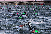 /images/133/2013-11-17-ironman-swim-1dx_0051.jpg - #11357:  - Swimming at Ironman Arizona 2013 … November 2013 -- Tempe Town Lake, Tempe, Arizona