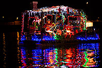 /images/133/2013-12-14-tempe-boats-1dx_5049.jpg - #11399: APS Fantasy of Lights Boat Parade … December 2013 -- Tempe Town Lake, Tempe, Arizona