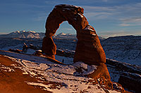 /images/133/2013-12-25-arches-delicate-1dx_9240.jpg - #11449: Delicate Arch in Arches National Park … December 2013 -- Delicate Arch, Arches Park, Utah