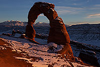 /images/133/2013-12-25-arches-delicate-1dx_9249.jpg - #11451: Delicate Arch in Arches National Park … December 2013 -- Delicate Arch, Arches Park, Utah