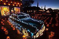 /images/133/2014-12-06-tubac-lights-1dx_7182.jpg - #12303: Hudson at Luminaria Nights in Tubac, Arizona … December 2014 -- Tubac, Arizona