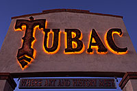 /images/133/2014-12-06-tubac-sign-1dx_7131.jpg - #12306: Where art and History Meet - Luminaria Nights in Tubac, Arizona … December 2014 -- Tubac, Arizona