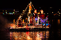 /images/133/2014-12-13-tempe-boats-1dx_8737.jpg - #12315: Boat #08 at APS Fantasy of Lights Boat Parade … December 2014 -- Tempe Town Lake, Tempe, Arizona