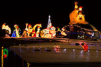 /images/133/2014-12-13-tempe-boats-1dx_9321.jpg - #12318: Boat #18 at APS Fantasy of Lights Boat Parade … December 2014 -- Tempe Town Lake, Tempe, Arizona