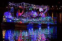/images/133/2014-12-13-tempe-boats-1dx_9436.jpg - #12320: Boat #15 at APS Fantasy of Lights Boat Parade … December 2014 -- Tempe Town Lake, Tempe, Arizona