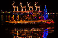 /images/133/2014-12-13-tempe-boats-1dx_9995.jpg - #12327: Boat #29 at APS Fantasy of Lights Boat Parade … December 2014 -- Tempe Town Lake, Tempe, Arizona