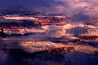 /images/133/2015-01-01-grand-fog-1dx_0077.jpg - #12339: Snow in Grand Canyon, Arizona … January 2015 -- Grand Canyon, Arizona