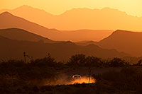 /images/133/2015-07-14-sup-fish-car-6d_4314.jpg - #12521: Sunset in Superstitions, Arizona … July 2015 -- Fish Creek Hill, Superstitions, Arizona
