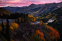 /images/133/2015-09-23-red-pass-evening-5d3_3138.jpg - #12626: Images of Red Mountain Pass between Ouray and Silverton … September 2015 -- Red Mountain Pass, Colorado
