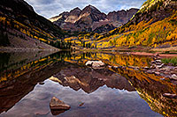 /images/133/2015-09-29-maroon-bells-4-5d3_4472.jpg - #12647: Maroon Lake reflections of Maroon Bells, Colorado … September 2015 -- Maroon Lake, Maroon Bells, Colorado