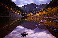 /images/133/2015-09-30-maroon-bells-5d3_4584.jpg - #12649: Maroon Lake reflections of Maroon Bells, Colorado … September 2015 -- Maroon Lake, Maroon Bells, Colorado
