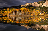 /images/133/2015-10-04-clear-reflection-6d_2169.jpg - #12659: Images of Owl Creek Pass … October 2015 -- Clear Lake, Owl Creek Pass, Colorado