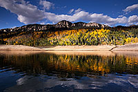 /images/133/2015-10-04-silver-reflection-6d_1866.jpg - #12663: Images of Owl Creek Pass … October 2015 -- Silver Jack Reservoir, Owl Creek Pass, Colorado