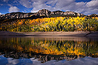 /images/133/2015-10-04-silver-reflection-6d_1893.jpg - #12664: Images of Owl Creek Pass … October 2015 -- Silver Jack Reservoir, Owl Creek Pass, Colorado