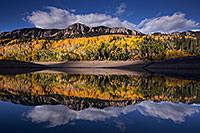 /images/133/2015-10-04-silver-reflection-6d_2016.jpg - #12667: Images of Owl Creek Pass … October 2015 -- Silver Jack Reservoir, Owl Creek Pass, Colorado