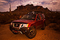 /images/133/2015-10-29-supers-xterra-night-6d_4233.jpg - 12694: Xterra in Superstitions at night … October 2015 -- Superstitions, Arizona