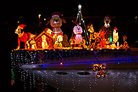 /images/133/2015-12-12-tempe-aps-lights-1dx_02655.jpg - #12789: Boat #23 at APS Fantasy of Lights Boat Parade … December 2015 -- Tempe Town Lake, Tempe, Arizona