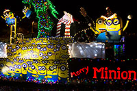 /images/133/2015-12-12-tempe-aps-lights-62-6d_6065.jpg - #12797: Boat #11 with Minions at APS Fantasy of Lights Boat Parade … December 2015 -- Tempe Town Lake, Tempe, Arizona