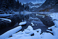 /images/133/2016-10-06-maroon-snowy-5-8-1dx_26852.jpg - #13120: Maroon Bells sunrise … October 2016 -- Maroon Bells, Colorado