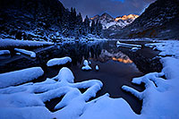 /images/133/2016-10-06-maroon-snowy-7036-1dx_26894.jpg - 13151: Maroon Bells sunrise … October 2016 -- Maroon Bells, Colorado