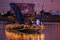 /images/133/2016-12-10-tempe-aps-lights-1dx_31306.jpg - #13198: Boat #28 at APS Fantasy of Lights Boat Parade … December 2016 -- Tempe Town Lake, Tempe, Arizona