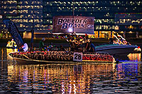 /images/133/2016-12-10-tempe-aps-lights-1dx_31376.jpg - #13203: Boat #28 at APS Fantasy of Lights Boat Parade … December 2016 -- Tempe Town Lake, Tempe, Arizona