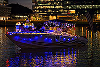 /images/133/2016-12-10-tempe-aps-lights-1dx_31655.jpg - #13212: Boat #01 at APS Fantasy of Lights Boat Parade … December 2016 -- Tempe Town Lake, Tempe, Arizona